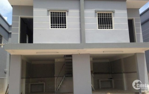 Cần bán gấp căn nhà 1 lầu, 1 trệt + 4 phòng trọ trong KCN.