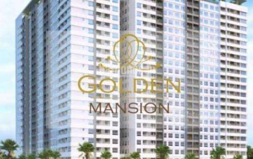 Cần bán gấp căn hộ cao cấp Golden Mansion Novaland, 1PN, 50m2, view đẹp, giá chỉ: 2.6 tỷ
