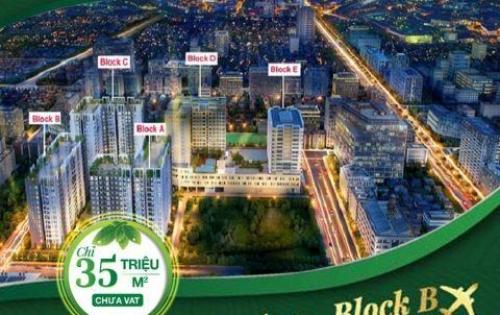 Bán căn hộ ở ngay block D dự án Cộng Hoà Garden 2PN/2WC chỉ 2,728 tỷ đã vat