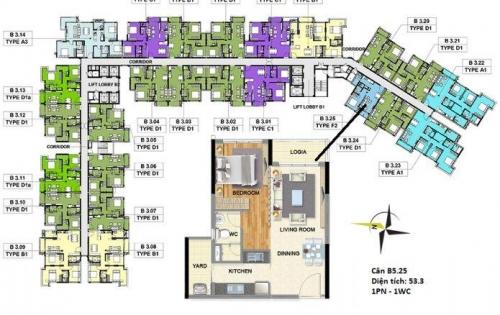 Bán căn hộ Celadon City - Nhận nhà quý 3/2019, thanh toán 15%