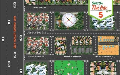 bán lô đất trong dự án smart city 5 đường ngô chí quốc ,