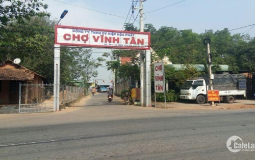 Bán đất ngay chợ Vĩnh Tân. Mặt tiền DT742-Tân Uyên