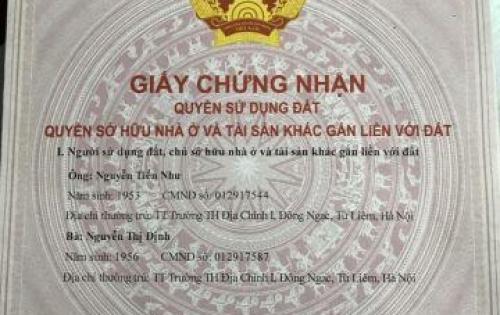 Bán nhà trong ngõ  Phố Chính Kinh , Thanh Xuân , Hà Nội  Diện tích : 43,6m2  Mặt tiền : 6m, giá 2,95 tỷ