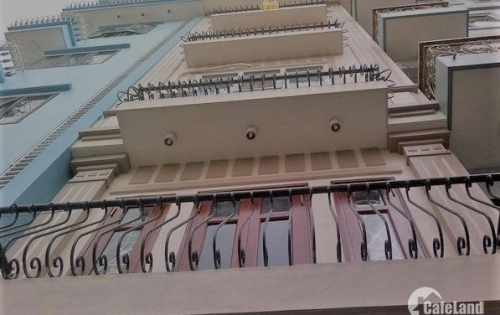 Bán nhà đường Nguyễn Trãi,  6 tầng, 10 phòng, 46m2, cho thuê, 4.15 tỷ.