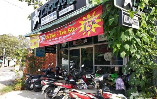 Sang nhượng quán cafe - Trà sữa tại 162 Trần Văn Ơn, vị trí đẹp,giá rẻ