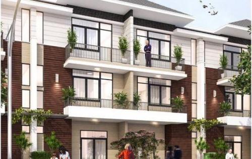 Nhà phố DT 90m2, 1 trệt 2 lầu xây sẵn. Giá từ 1,6 tỷ/căn. Liền kề Hố Nai, Biên Hòa