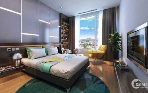 Bán căn hộ 91m2, 3 phòng ngủ, giá bán 26,5triệu/m2, ban công tây nam, view đường Hoàng Quốc Việt
