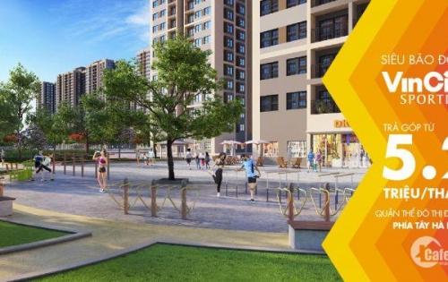 Quỹ căn độc quyền tầng 15 tòa H5 và tầng 24 tòa H2 siêu đẹp, siêu VIP dự án Vincity Sportia Tây Mỗ