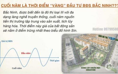 Khu đô thị Vsip Phù Chẩn, Bắc Ninh- Shophouse sinh lời cao