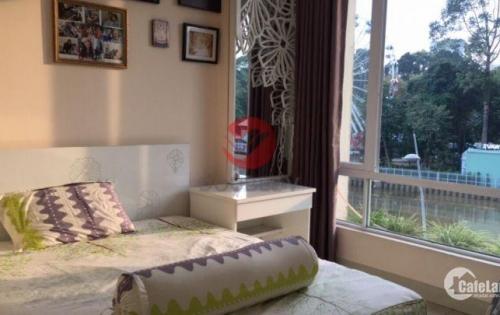 Căn hộ dịch vụ 1 phòng ngủ 60m2 quận Bình Thạnh, view sông rất đẹp, chỉ 15.1 triệu/tháng