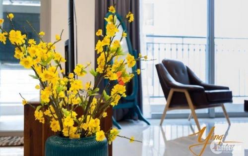 Cho thuê căn hộ cao cấp 2PN nội thất cao cấp tại dự án Vinhomes Central Park dt 83m2