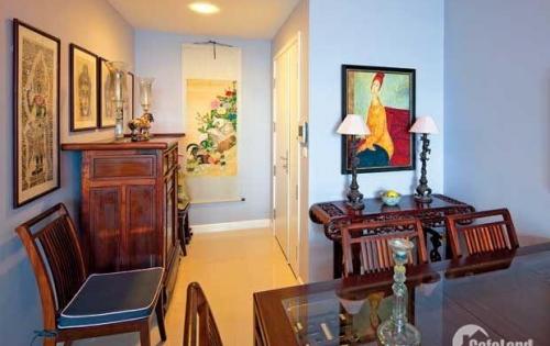 Cho thuê căn hộ 117m2 chung cư 60 Hoàng Quốc Việt lắp đặt đồ cơ bản, giá 8 triệu/tháng