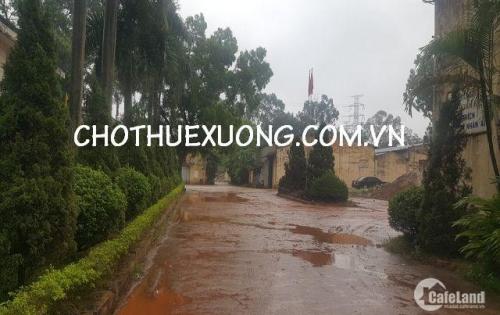 Cho thuê nhà xưởng tiru chuẩn gần ga Yên Viên Gia Lâm Hà Nội DT 715m2