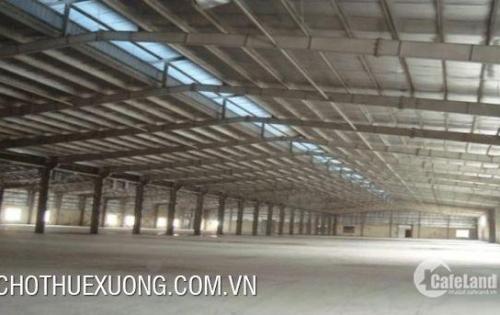 Cho thuê nhà xưởng tại Hà Nội gần ga Yên Viên DT 1615m2 giá rẻ