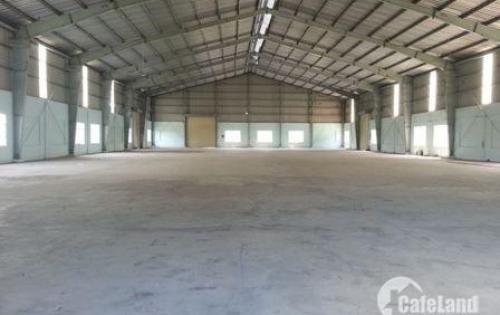 Cho thuê xưởng khu vực chân cầu Vĩnh Tuy-Long Biên.