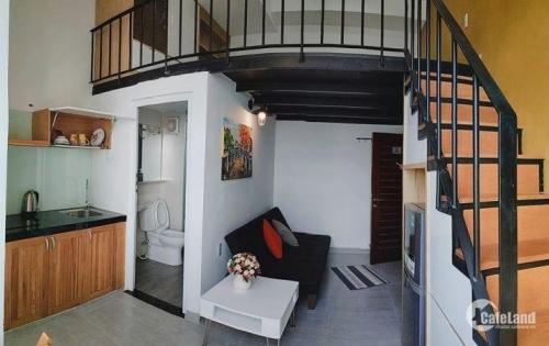 Tết tết thông báo cho thuê chung cư mini Cao Cấp full nội thất có Gác gần Q1,Q4 ở Q7 HCM