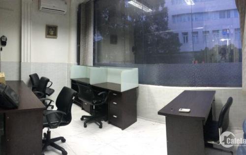 Giảm 50% văn phòng TRỌN GÓI DT 14,5m2 6-8 người 64 Nguyễn Đình Chiểu, ĐA Kao Q1