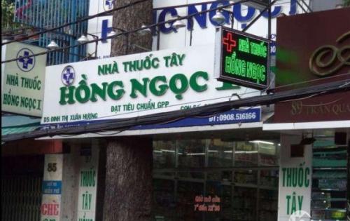 Cho thuê nhà mặt tiền đường Trần Quang Diệu, phía quận 3