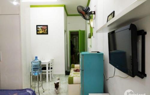 Căn hộ full nội thất cho thuê diện tích 40m2 ở quận 3 cho nuôi thú cưng