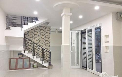 Cho thuê nhà 1 lầu mới 100% hẻm xe hơi 935 Huỳnh Tấn Phát quận 7.