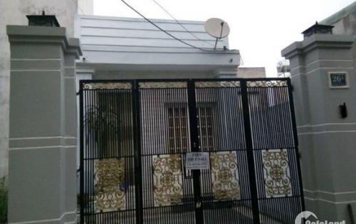 Cho thuê nhà nguyên căn 80m2, 2PN KDC Vĩnh An, Thuận An, Bình Dương.