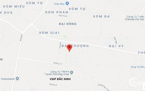 Cho thuê nhà riêng, xã đại đồng, đường đại thượng cạnh khu công nghiệp Vsip Bắc Ninh