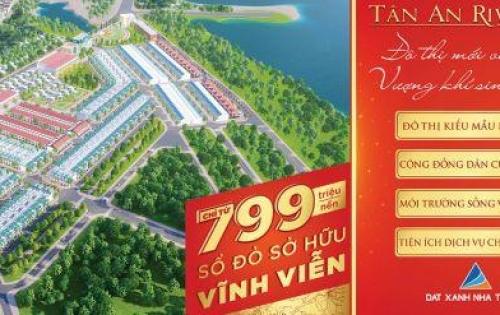 KHu đô thị ven sông đẹp nhất An Nhơn- Bình ĐỊnh chỉ 799 triệu/nền