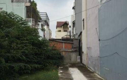 Bán đất hẻm thẳng trục 5m thông, 5.2x14m,khu dân trí cao tại Bùi Đình Túy.