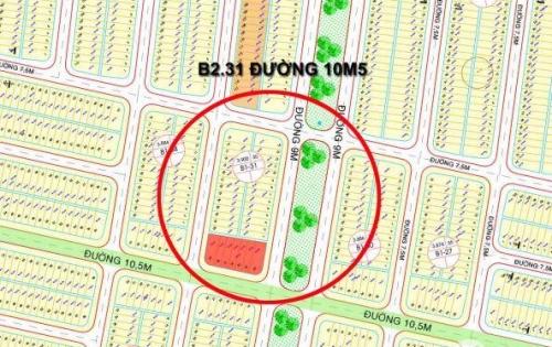 Cần bán gấp lô đất đường 10m5 NTP B1.31 gần ngã tư đường tơ lụa, lô đất sạch đẹp giá đàu tư