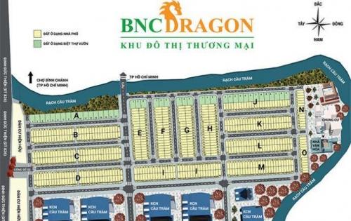 Đất nền giá rẻ nằm ngay KCN Cầu Tràm mặt tiền Đinh Đức Thiện, Bình chánh