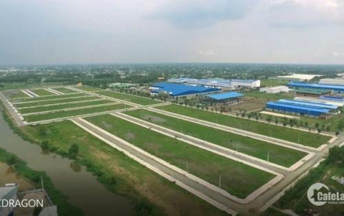 Bán đất KĐT BNC Dragon Bình Chánh giá 12triệu/m2, MT Đinh Đức Thiện,SHR, xây tự do.