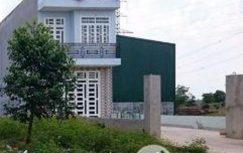 Bán đất MT 8M gần bệnh viện, chợ, Tân Kim, cách đường Quốc Lộ 50, 50m, SHR, thổ cư 100%, giá 600 tr/nền=100m2