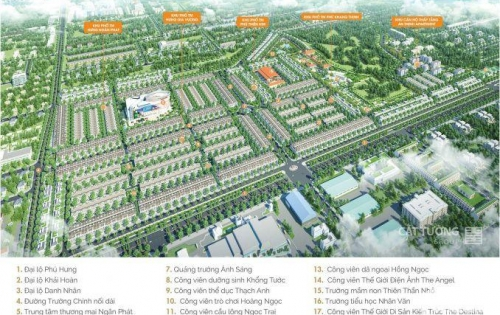 Cát Tường Phú Hưng - Đồng Xoài - Bình Phước