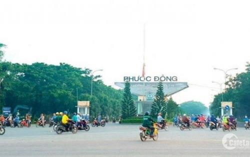 Bán đất khu dân cư Phước Đông,Gò Dầu, Tây Ninh Giá siêu rẻ chỉ 200tr 1 nền