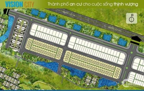 Bán Đất Mặt Tiền khu đô thị Vision City – Thanh Lam – Thuỷ Phương. Gía tốt cho đầu tư hay an cư