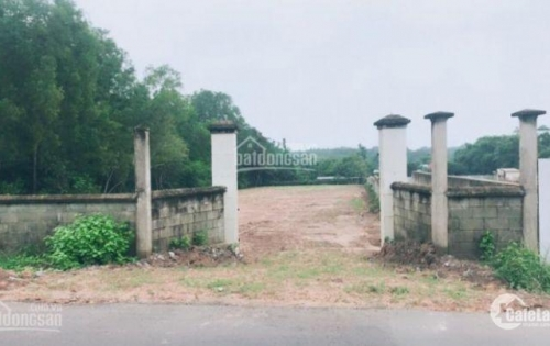 đất giá rẻ mặt tiền Bà Thiên, gần TL15, địa đạo Củ Chi. DT 3100m2, giá 2.5tr/m2