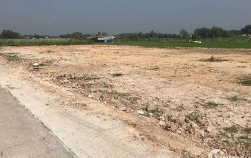 Bán lô đất 150m2 mặt tiền đường 12m, liền kề bệnh viện Xuyên Á, giá 730tr, SHR.
