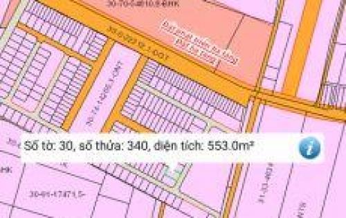Đất tái định cư Phước Bình, thổ cư, SHR, dt 553m2
