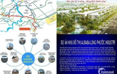 Bán nhà đất 100m2 dự án Alibaba Long Phước 1 đất Long Thành, Đồng Nai