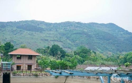 Bán đất 2375m2 Lương Sơn chính chủ, thế đất tựa đồi cực đẹp