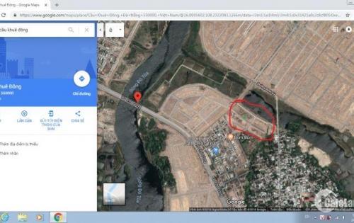 Lô đất BT cuối của dự án Hòa Qúy giá thấp nhất khu vực