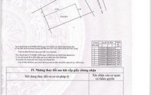 CẦN  BÁN LÔ ĐẤT ĐẸP XÃ VĨNH HIỆP CÁCH ĐƯỜNG 23/10 NHA TRANG 20M
