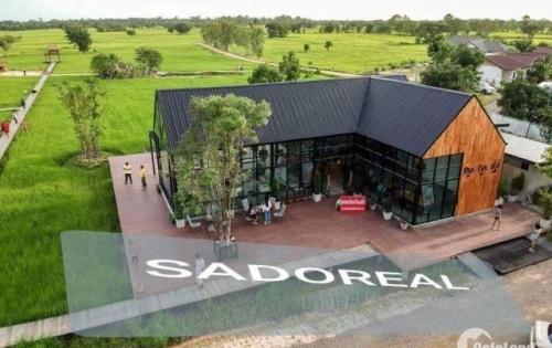 Lô biệt thự vườn 500m giá rẻ tại Nhơn Trạch, cách phà 4km, gần sông