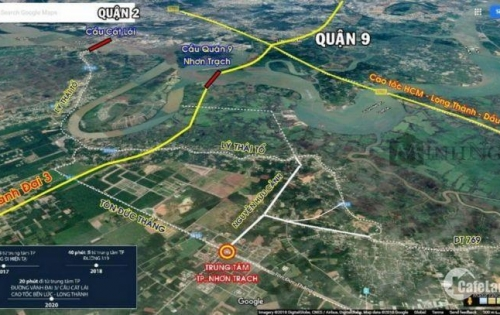Đất nền Nhơn Trạch, Đồng Nai - Chưa bao giờ hết hot cho nhà đầu tư.