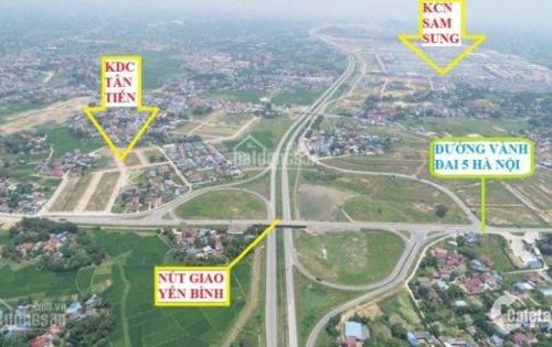 Đất nền khu công nghiệp Samsung, đã có sổ đỏ, giá chỉ từ 6 triệu/m2