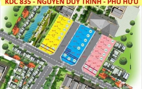 Lô duy nhất đường 835, Nguyễn Duy Trinh, ngay Vòng Xoay Phú Hữu