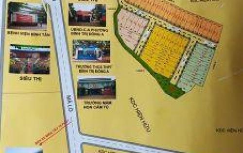 Đất đầu tư sinh lời cực nhanh Hương lộ 2, Chợ Bình Trị Đông, Bình Tân