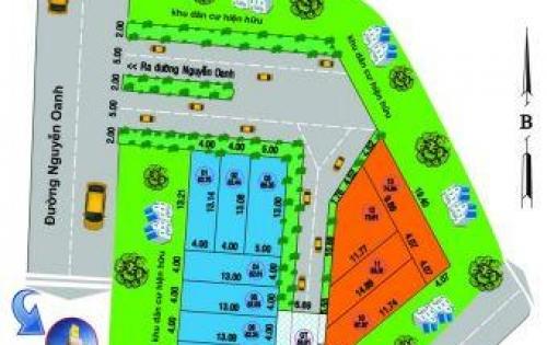 Trân trọng! Bán đất vị trí đẹp KDC An Lộc Phát, đường Nguyễn Oanh, phường 6 Gò Vấp.