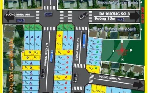 hàng chính chủ cần bán lô đất mặt tiền đường số 8 phường linh xuân quận thủ đức