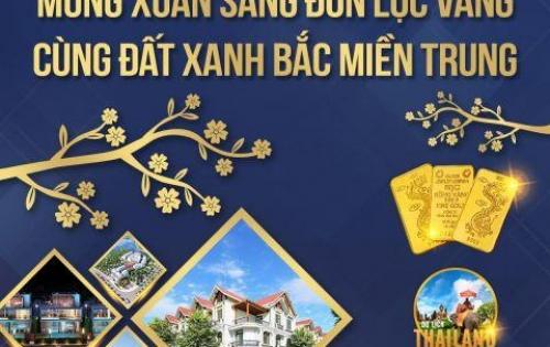 Dự án Eco Town sân bay Phú bài Huế, tặng 2 chỉ vàng SJC dịp Tết